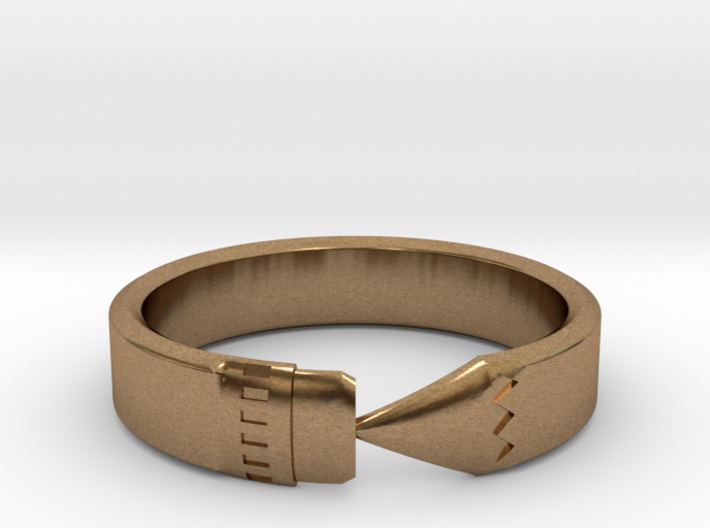 Pencil Ring, Size 9 3d printed