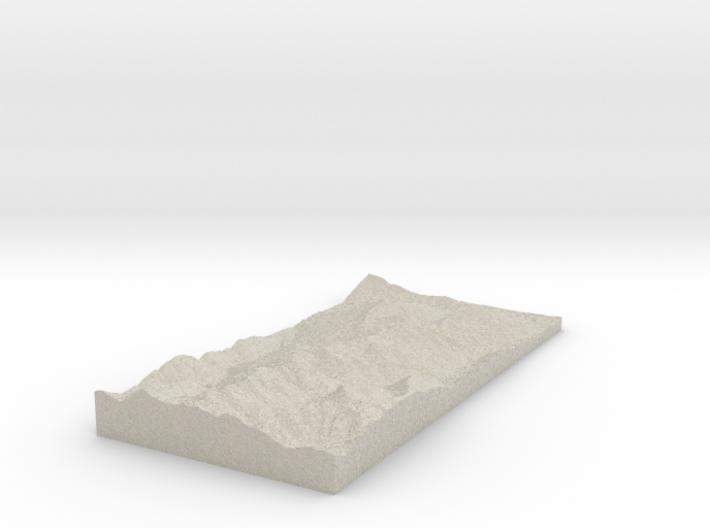 Model of Brechhornhaus 3d printed