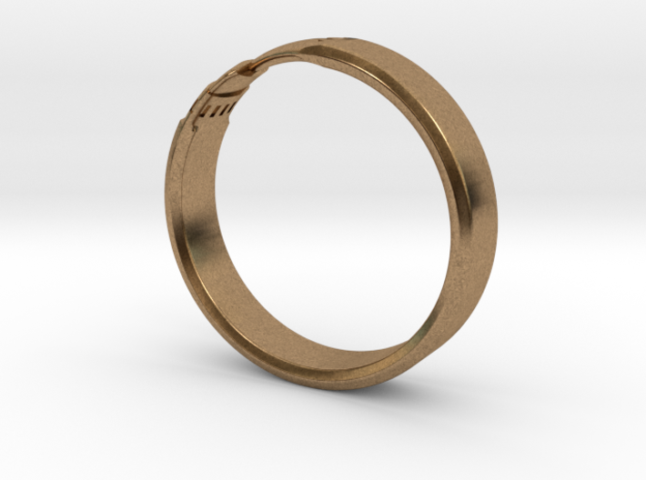 Pencil Ring, Size 10.5 3d printed