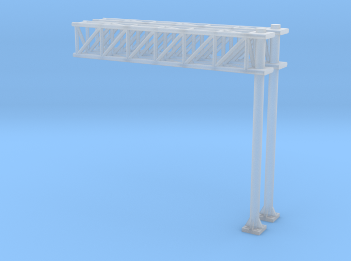 N Scale Sign Cantilever 47mm 3d printed