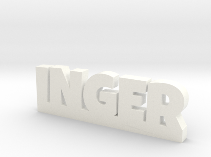 INGER Lucky 3d printed