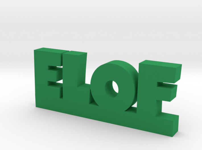 ELOF Lucky 3d printed