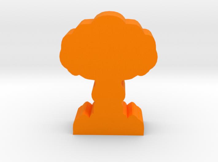 Game Piece, Mushroom Cloud 3d printed