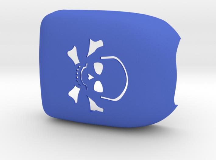 Omnipod Pod Cover - Skull Crossbones 3d printed