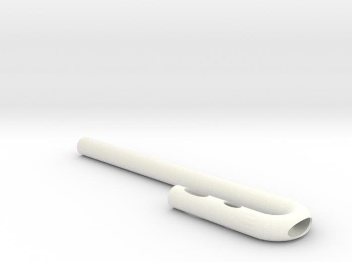 Milkshake Straw 3d printed