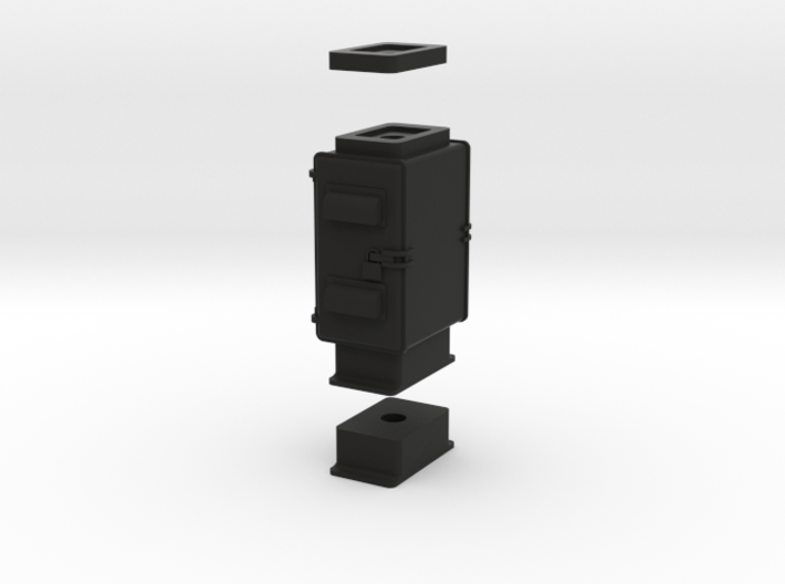 HO Cabinet Base 1 3d printed