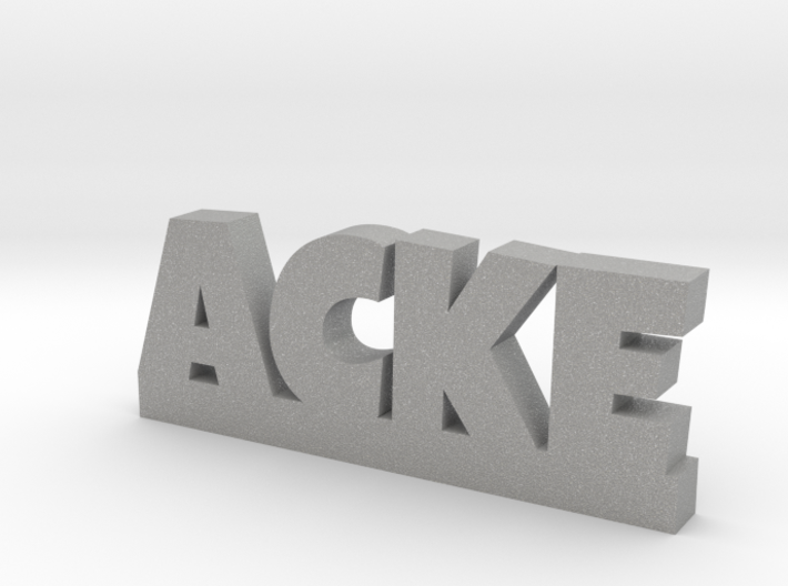 ACKE Lucky 3d printed