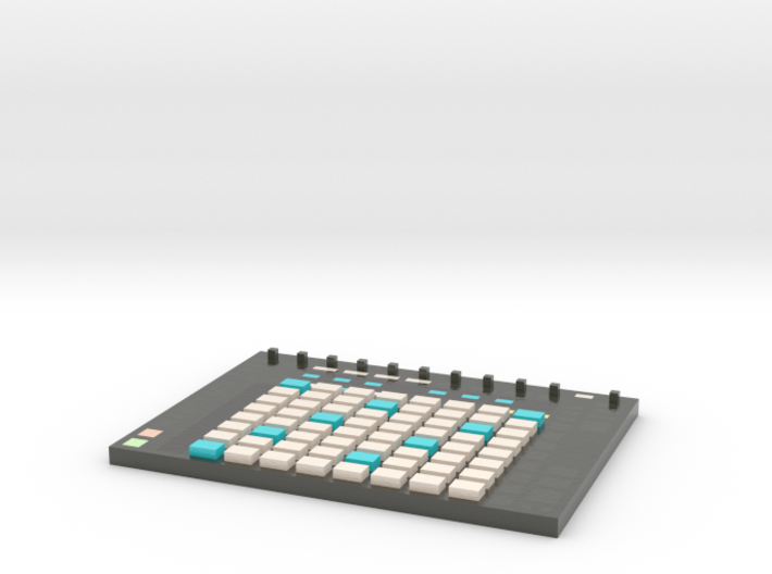 Ableton Push 2 -- Melody View -- Voxel Miniature 3d printed