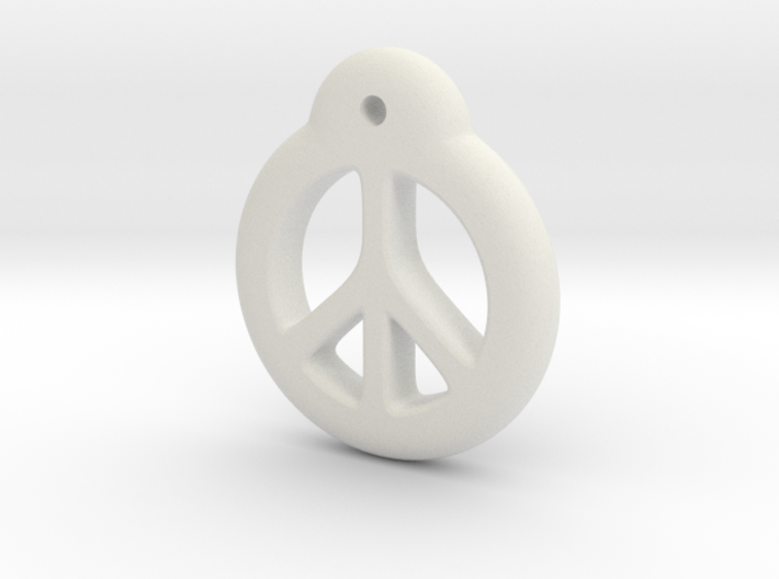Blythe Doll Pullring *Peace* 3d printed