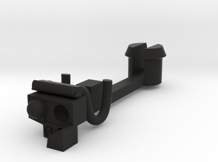Automatic coupling 3d printed
