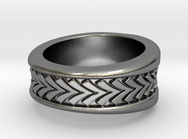 Spruce Ring S B 3d printed