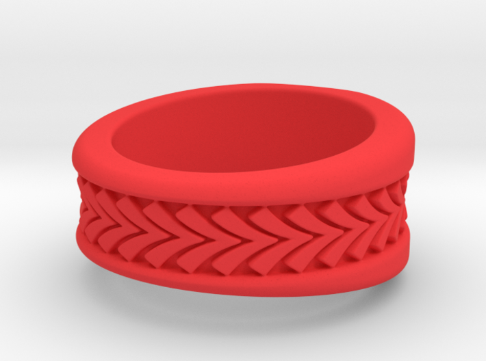 Spruce Ring Pl 3d printed