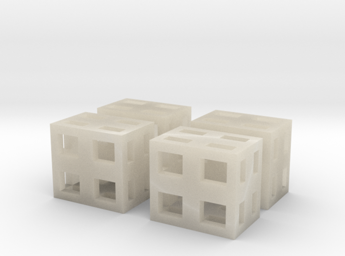 Boxes 4x scale 1-100 3d printed