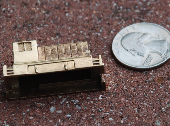Rebel Switcher for Metal - Z scale 3d printed