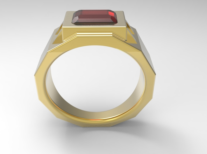Engineers Fingers Ring G 3d printed