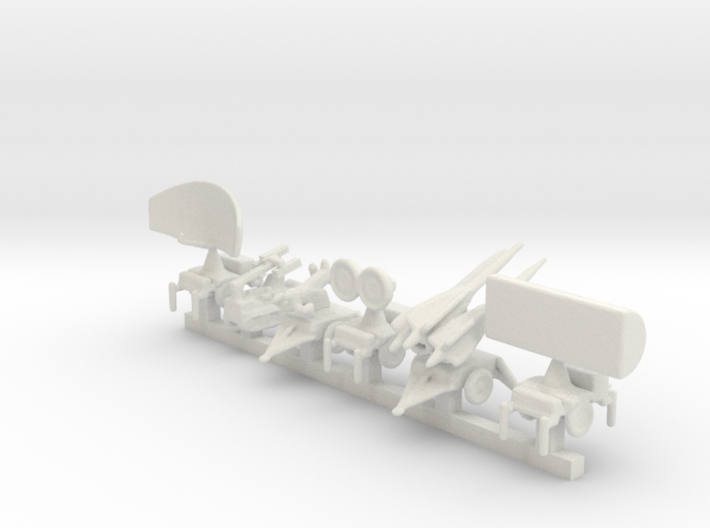 1/285 Scale Hawk Missile System 3d printed
