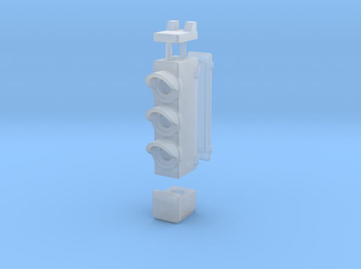 HO Triple Transit SIgnal 3d printed