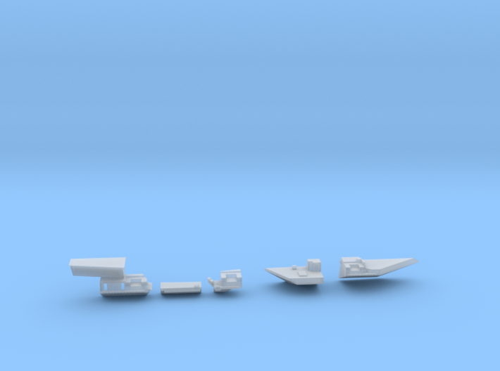 1:350 Scale USS Theodore Roosevelt 1986-1997 Updat 3d printed