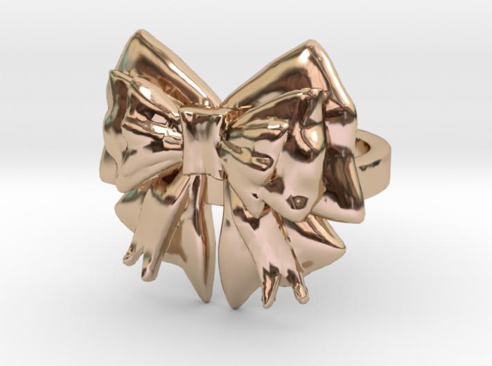 Kimono Ring sz7 3d printed