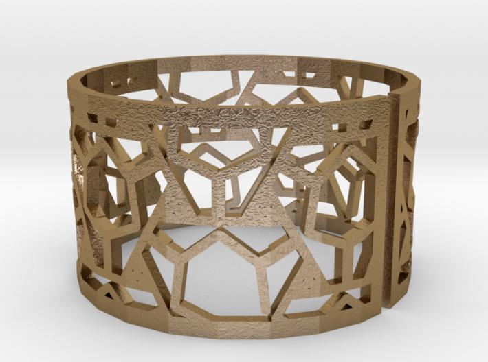 Bracelet AQ (2) 3d printed