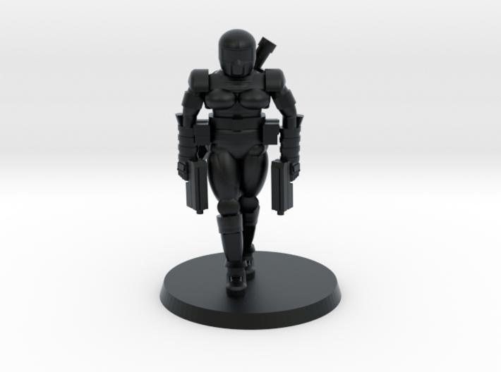 36mm Female Combat Armor 3 3d printed