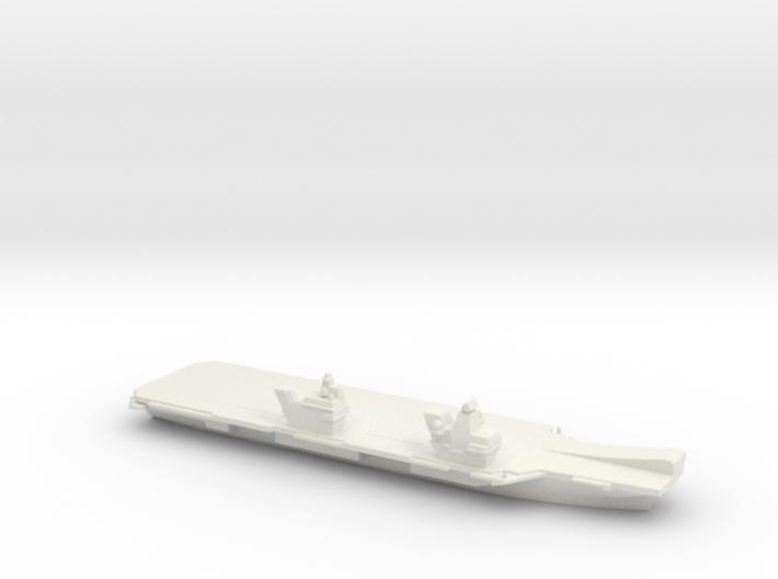Queen Elizabeth-class aircraft carrier, 1/3000 3d printed