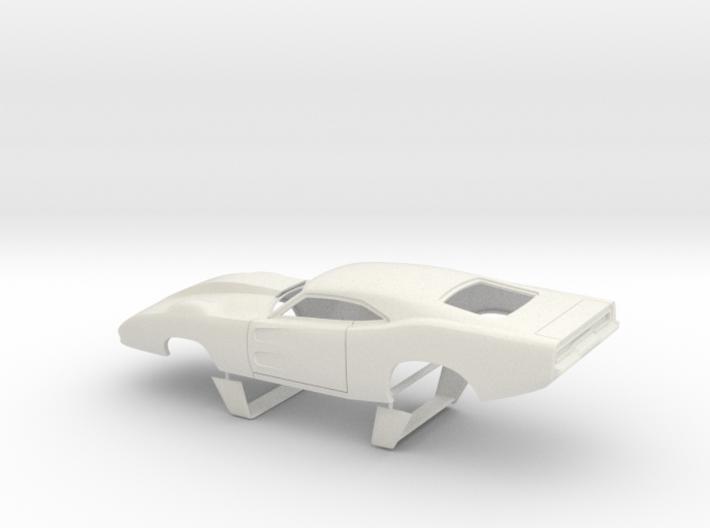 1/24 69 Daytona Pro Mod With Door Vents 3d printed