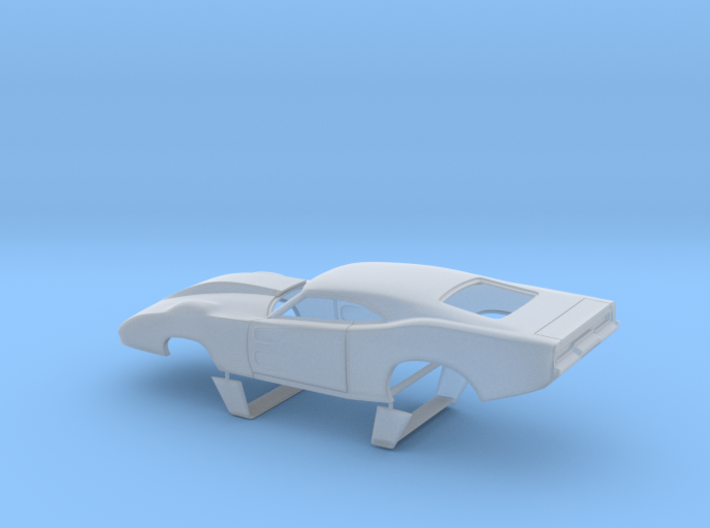 1/43 69 Daytona Pro Mod With Door Vents 3d printed