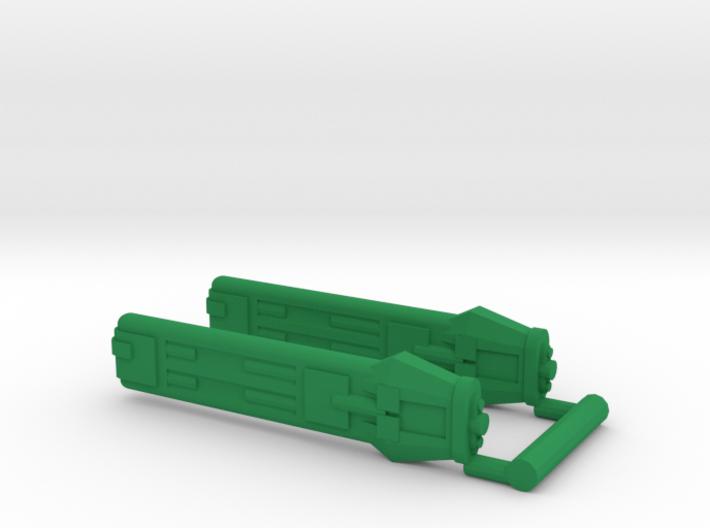KWD Type D Klingon Warp Nacelle 3d printed