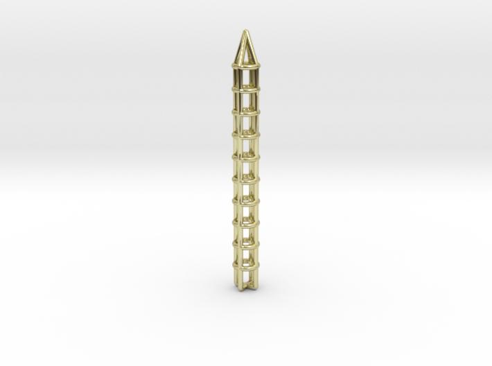 Pen Pendant Circular 3d printed