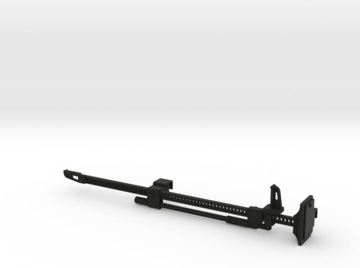 FR10024 Jack and Bracket - BLACK 3d printed