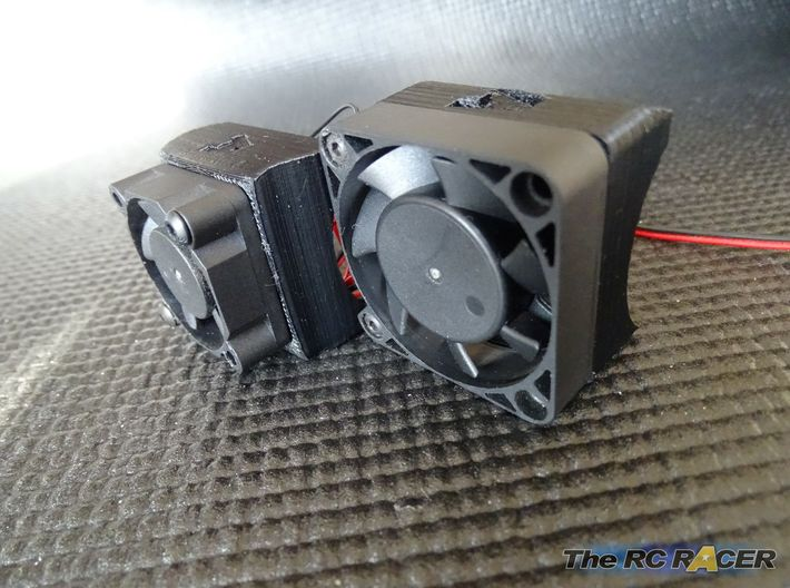Turbo Fan Booster for 40mm fans 3d printed