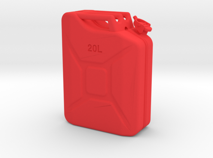 1/10th Scale Jerry Can / gas can 3d printed