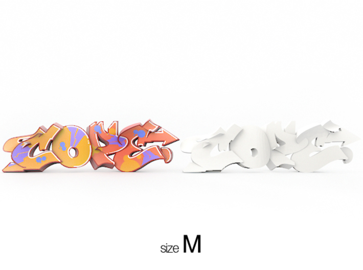 COPE graffiti sculpture 3d printed graffiti sculpture COPE available variants