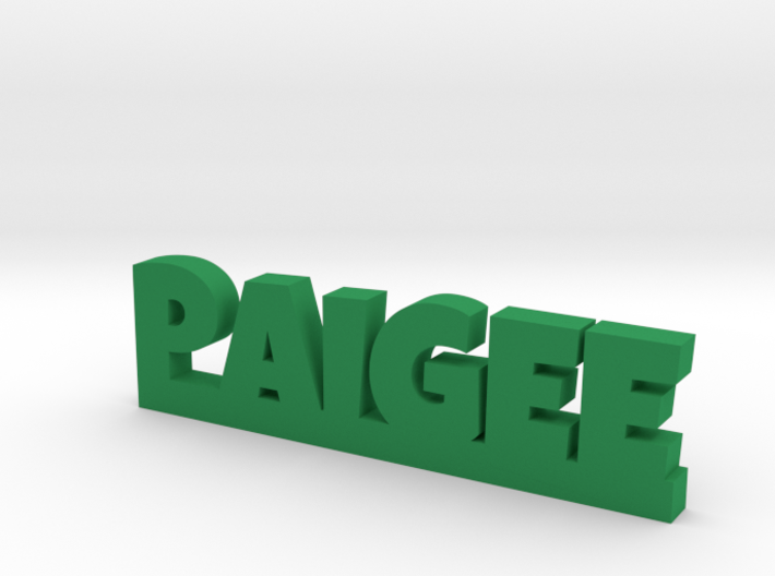 PAIGEE Lucky 3d printed