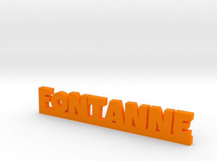 FONTANNE Lucky 3d printed