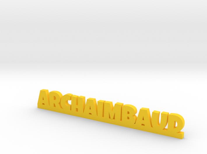 ARCHAIMBAUD Lucky 3d printed
