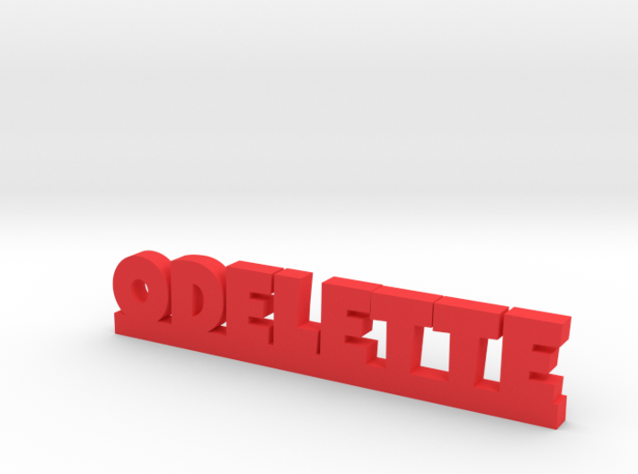 ODELETTE Lucky 3d printed