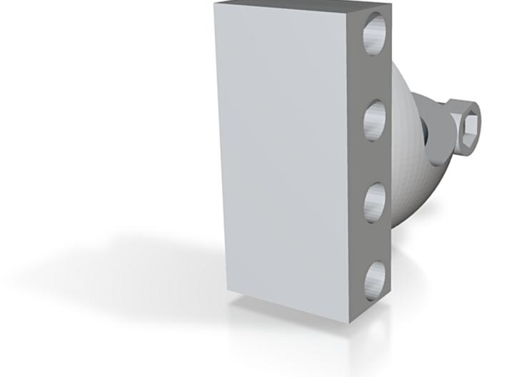 Shoulder Socket Lower (Left) 3d printed