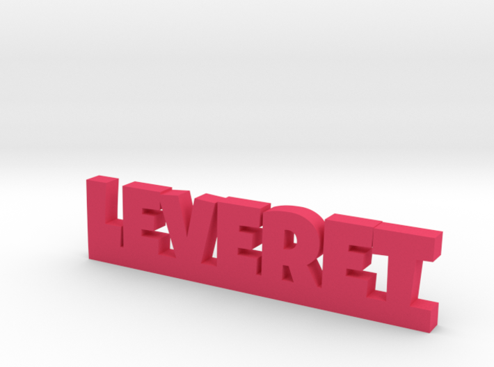 LEVERET Lucky 3d printed