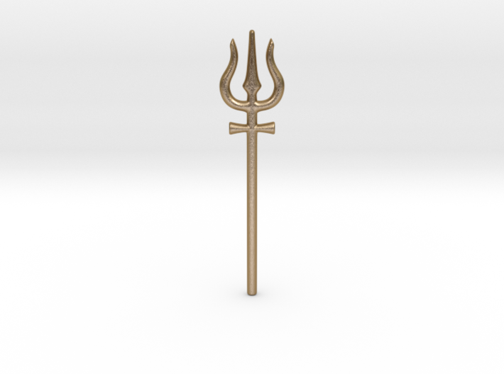 Shiva Trident Tuning Fork 3d printed
