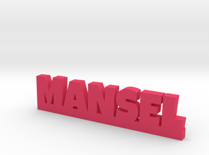 MANSEL Lucky 3d printed