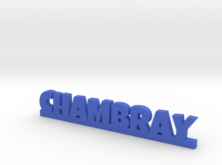 CHAMBRAY Lucky 3d printed