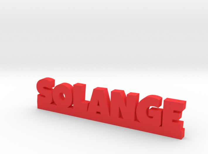 SOLANGE Lucky 3d printed
