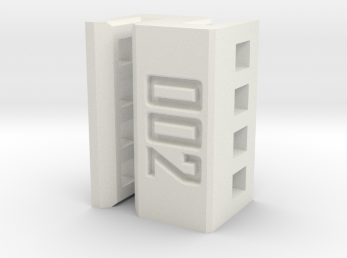 Daughterboard Clip for Amiga 3000 3d printed