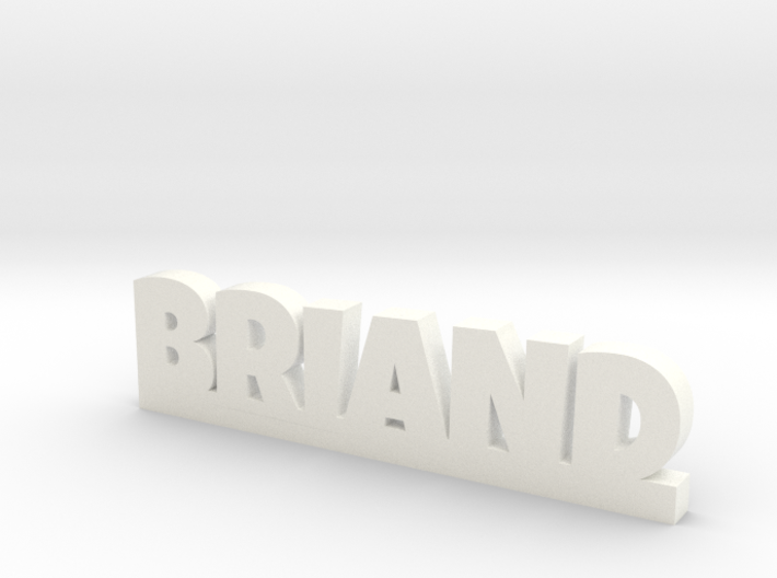 BRIAND Lucky 3d printed