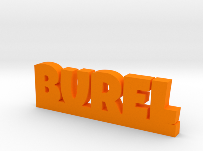 BUREL Lucky 3d printed