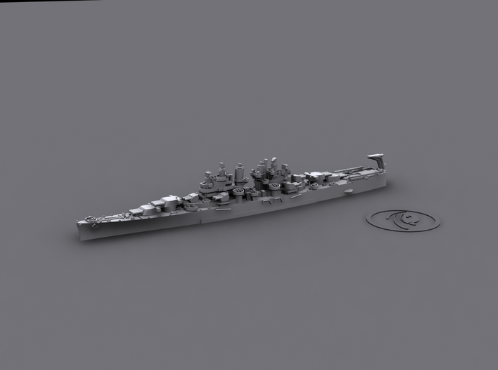1/1800 US CL Miami[1944] 3d printed Computer software render