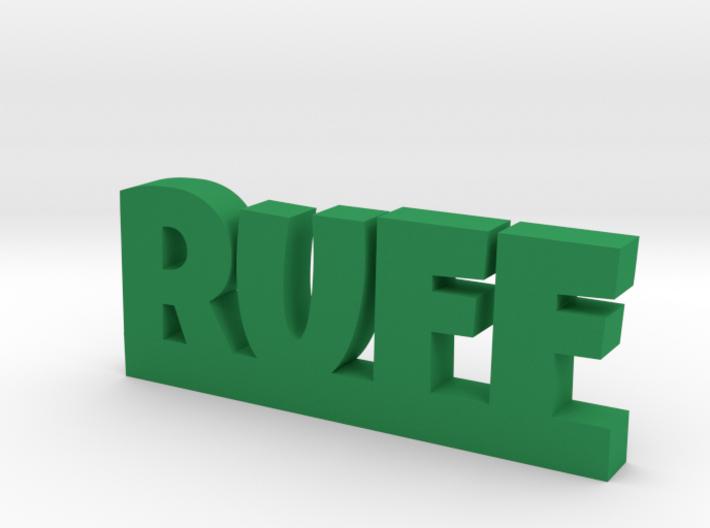RUFF Lucky 3d printed