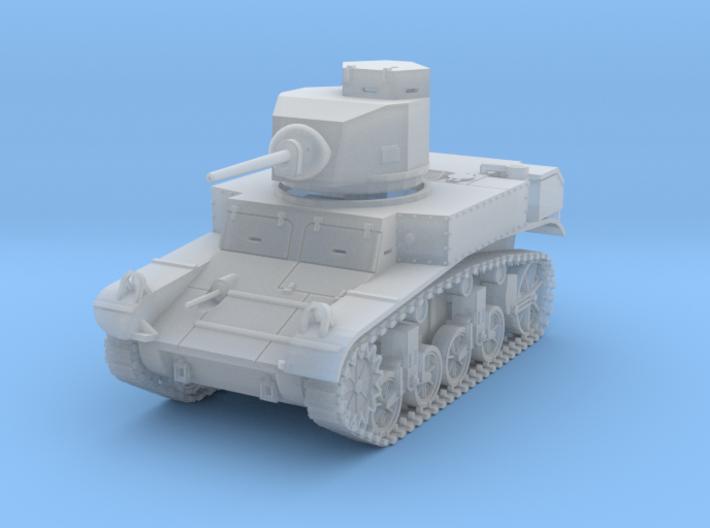 PV27C M3 Stuart Light Tank (1/87) 3d printed